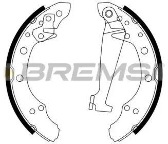 Барабанні гальмівні колодки 'BREMSI GF0556'.