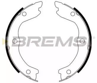 Тормозные колодки ручника 'BREMSI GF0870'.