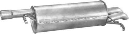 Глушитель на VOLKSWAGEN PASSAT 'POLMO 01.124'.