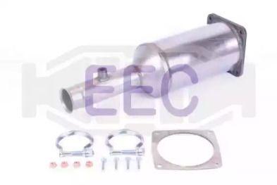 Сажевый / частичный фильтр, система выхлопа ОГ EEC DPF009.