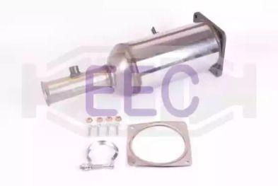 Сажевый / частичный фильтр, система выхлопа ОГ EEC DPF025.