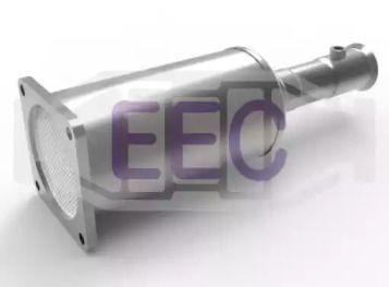 Сажевый / частичный фильтр, система выхлопа ОГ 'EEC DPF064'.