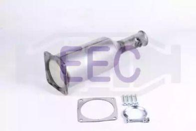 Сажевый / частичный фильтр, система выхлопа ОГ 'EEC DPF081'.