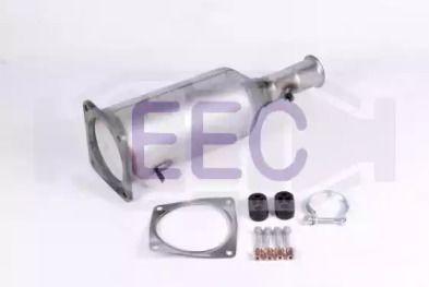 Сажевый / частичный фильтр, система выхлопа ОГ EEC DPF084.