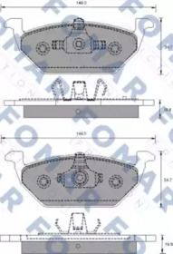 FOMAR FRICTION FO 687681