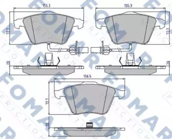 FOMAR FRICTION FO 912481