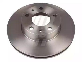 Вентилируемый передний тормозной диск 'FAST FT31007'.