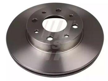 Вентильований передній гальмівний диск 'FAST FT31022'.