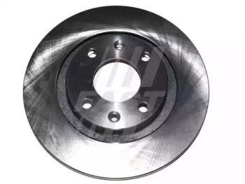 Вентилируемый передний тормозной диск на CITROEN C-ELYSEE 'FAST FT31026'.