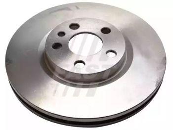 Вентилируемый передний тормозной диск 'FAST FT31038'.