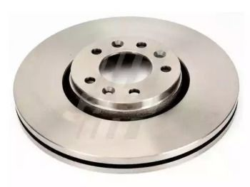 Вентилируемый передний тормозной диск 'FAST FT31099'.