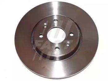Вентилируемый передний тормозной диск на RENAULT GRAND SCENIC 'FAST FT31101'.