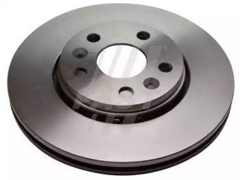 Вентилируемый передний тормозной диск 'FAST FT31123'.