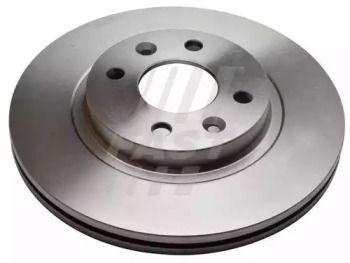 Вентилируемый передний тормозной диск 'FAST FT31125'.