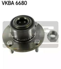 Подшипник ступицы 'SKF VKBA 6680'.