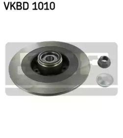 Тормозной диск на Рено Вель Сатис 'SKF VKBD 1010'.