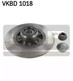 Тормозной диск 'SKF VKBD 1018'.