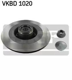 Тормозной диск 'SKF VKBD 1020'.
