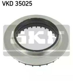 Опорный подшипник на Шкода Октавия А5 'SKF VKD 35025'.