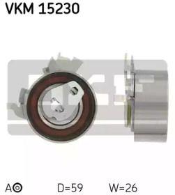 Натяжной ролик ГРМ 'SKF VKM 15230'.