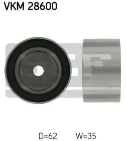 Обводной ролик ГРМ на CHRYSLER PT CRUISER 'SKF VKM 28600'.