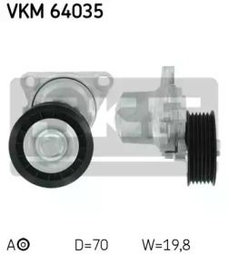Натяжний ролик ременя генератора на MAZDA MX-5 SKF VKM 64035.