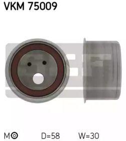 Натяжний ролик ГРМ на Мітсубісі Карізма 'SKF VKM 75009'.