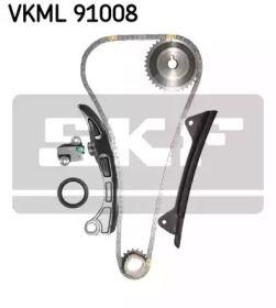 Комплект ланцюга ГРМ SKF VKML 91008.