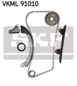 Комплект ланцюга ГРМ SKF VKML 91010.