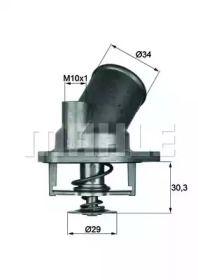 Термостат, охлаждающая жидкость 'BEHR TI 2 92'.