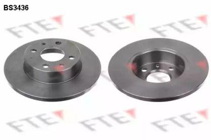 Тормозной диск на FIAT DUNA FTE BS3436.