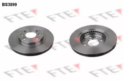 Вентилируемый тормозной диск 'FTE BS3899'.