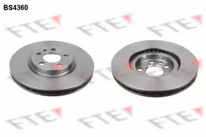 Вентилируемый тормозной диск 'FTE BS4360'.