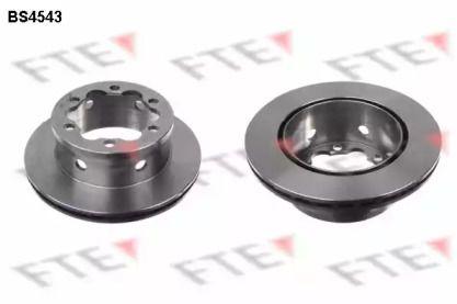 Вентилируемый тормозной диск 'FTE BS4543'.