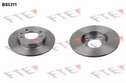 Тормозной диск на CITROEN C4 'FTE BS5311'.