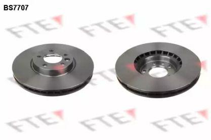 Вентилируемый тормозной диск 'FTE BS7707'.
