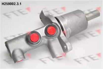 Головний гальмівний циліндр на Мерседес Г Клас  FTE H259002.3.1.