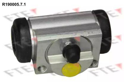 Задній гальмівний циліндр 'FTE R190005.7.1'.