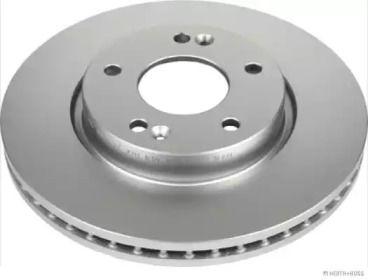 Тормозной диск на KIA CARENS 'JAKOPARTS J3300304'.