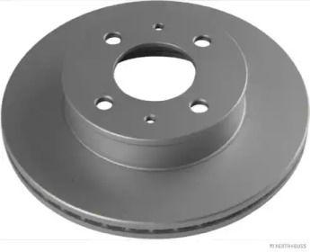 Вентилируемый тормозной диск 'JAKOPARTS J3300517'.