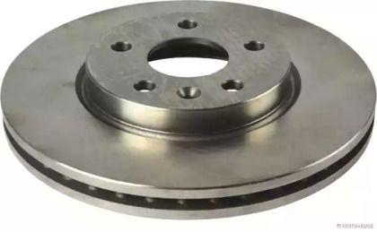 Вентилируемый тормозной диск на CHEVROLET CRUZE 'JAKOPARTS J3300901'.