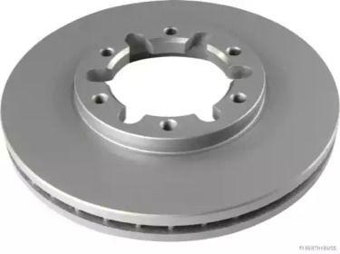 Вентилируемый тормозной диск на NISSAN PATROL 'JAKOPARTS J3301078'.