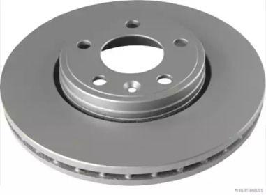 Вентилируемый тормозной диск на Рено Трафик 'JAKOPARTS J3301092'.