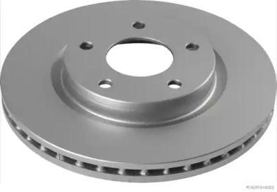 Вентилируемый тормозной диск на NISSAN PULSAR 'JAKOPARTS J3301103'.