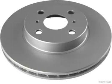 Вентилируемый тормозной диск 'JAKOPARTS J3302033'.