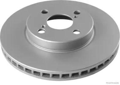 Вентилируемый тормозной диск 'JAKOPARTS J3302135'.