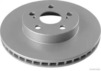 Вентилируемый тормозной диск 'JAKOPARTS J3302137'.