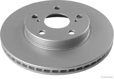 Вентилируемый тормозной диск 'JAKOPARTS J3302169'.