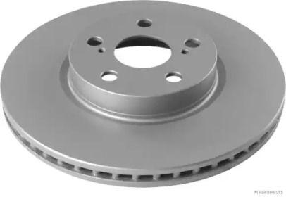 Вентилируемый тормозной диск 'JAKOPARTS J3302175'.