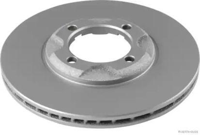 Вентилируемый тормозной диск 'JAKOPARTS J3303035'.